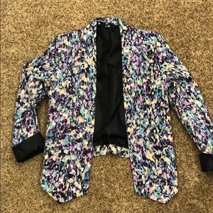 Multicolored Spring Blazer